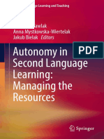 Autonomy in Second Language Learning Managing the Resources