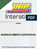 Slides de Aula Unidade 1 Desenvolvimento Sustentavel