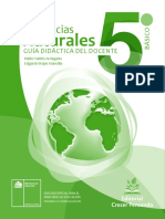Ciencias Naturales 5º Básico - Guía Didáctica Del Docente Tomo 1