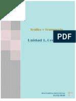 Investigacion de Unidad 1 Geografia;  trafico y transporte
