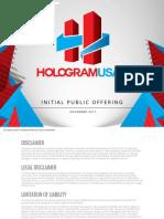 Hologram USA Media Kit