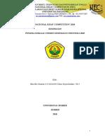 NEC PRIMA UNRAM 2018_Eka Mei Dianita_Univ Jember_Kesehatan_Pemuda Sebagai Cermin Kesehatan Indonesia 2045