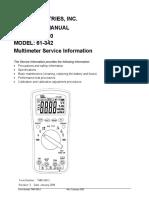 316 Manual