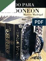 Método de bandoneón de Marcos Madrigal