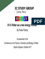 UV & Water New Energy Frontier
