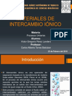 Materiales de Intercambio Iónico