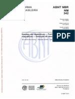 Nbr 342 -End - Pm - Detecção de Descontinuidades