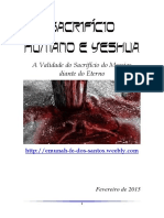 Sacrifício Humano e Yeshua_(Completo)