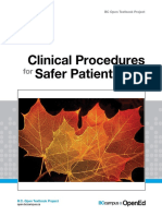 Clinical Procedures for Safer Patient Care