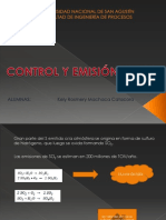 Control y Eliminación de SOx