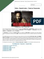 Mira the Walking Dead Online - Español Latino - Todas Las Temporadas _ Planeta Tv Online HD