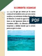 Que Son Las Corrientes Oceanicas