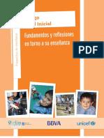 EL JUEGO en EL NIVEL INICIAL. Fundamentos y Reflexiones en Torno a Su Enseñanza.