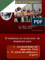 Cambios fisiológicos en el embarazo