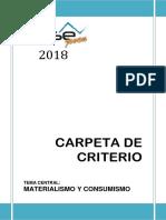 Carpeta de Criterio Otse Joven 2018