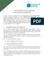 Regulamento Vire Um Curador Campus Party Bahia 2018