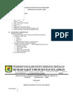 Panduan Penyusunan Dokumen Akreditasi Snars 1