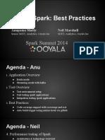 Testing Spark Best Practices Anupama Shetty Neil Marshall