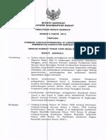 Formasi Jabatan Fungsional Di Lingkungan Pemerintah Kabupaten Sanggau