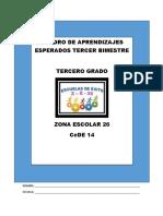APRENDIZAJES ESPERADOS 3º