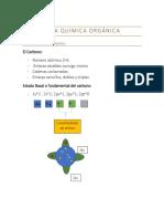 Guía Quimica Orgánica guía 1