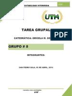 Tarea Grupal Conta Intermedia Grupo 8