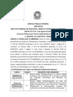 Edital 37 Tec. Adm. 2s2010 Final - Completo