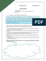 Guía teorías de la vida 3° FD