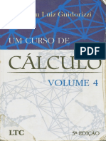 Um Curso de Cálculo Vol.4 - 5ªEd. Guidorizzi