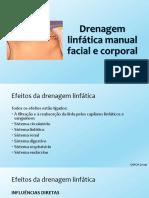 4. Drenagem Linfática Manual Facial e Corporal