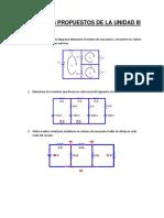 Ejercicios Propuestos de La Unidad III
