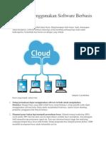 4 Alasan Menggunakan Software Berbasis Cloud