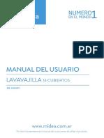 De 114XAR1 User Manual