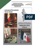 Formacion Civica y Etica 3 ACTIVIDADES