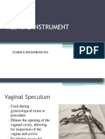 Instruments Medical Nabila