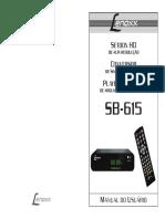 Manual SB615 Lenoxx