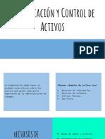 Clasificación de La Informacion y Control de Activos