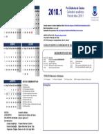 Calendario 2018.1 Ufcg PRE