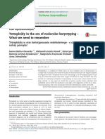 Caso reportado de Tetraploidia en infante de 5 años vivo
