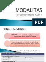 kuliah MODALITAS