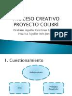 Proceso Creativo Colibri