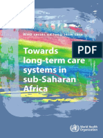WHO LTC Series Subsaharan Africa