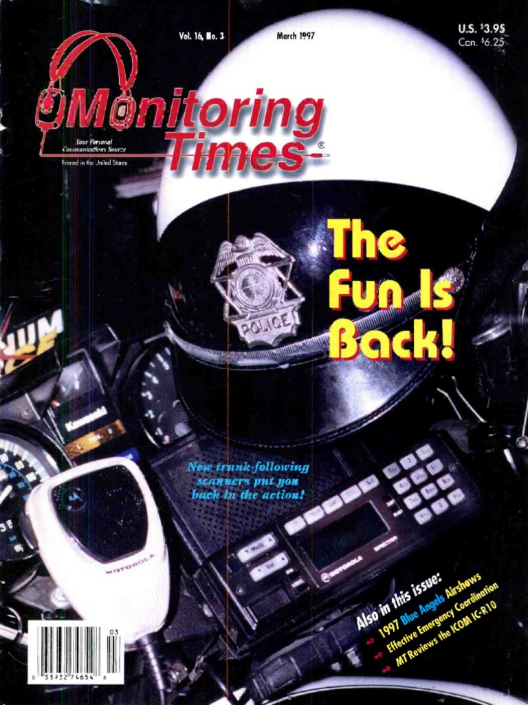 Monitoring Times 1997 03 | Radio | Frequency Modulation on