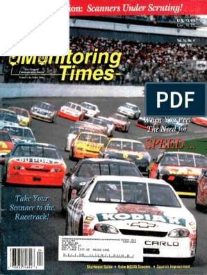 Monitoring Times 1997 04 | Radio | Television