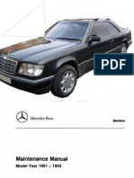 [MERCEDES BENZ] Manual de Taller Mercedes Benz Modelos 1981-1993