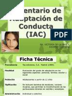 (IAC) Inventario de Adaptación de Conducta