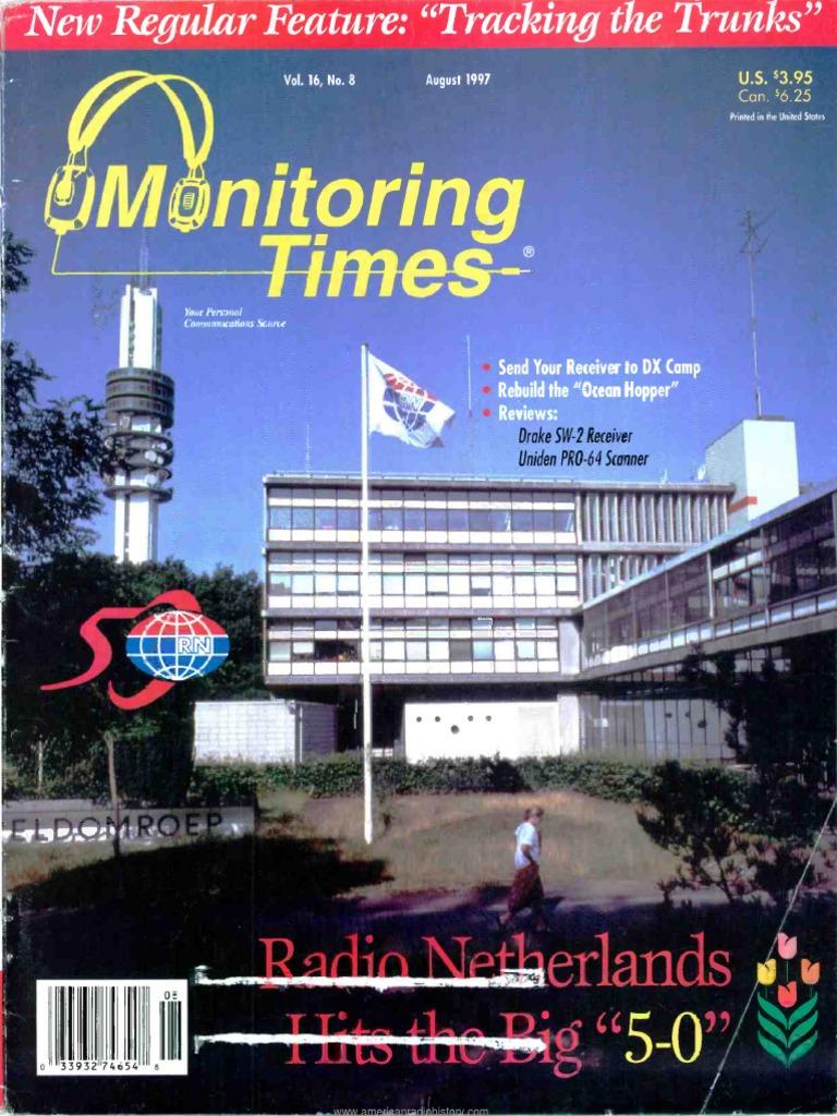 Monitoring Times 1997 08 | Radio | Radio Technology