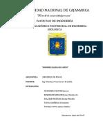 Informe Mecanica de Rocas