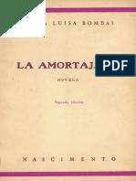 La Amortajada, Maria Luisa Bombal
