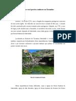O Que Você Precisa Conhecer No Tocantins.doc. Natividade